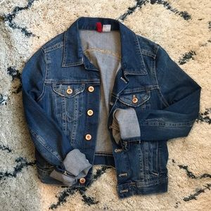 H&M Fitted Denim Jacket